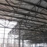 Cтроительство склада. Металлический каркас складского многопролетного сооружения