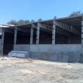 Строительство быстровозводимого бетонного склада. Недорого металлоконструкции Киев.