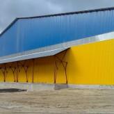 Строительство холодного склада из металлического каркаса. Бровары. Недорого.