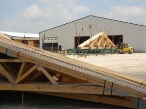 Строительство складов за оптимальные сроки.